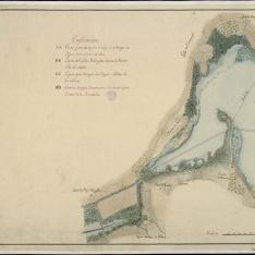 Plano topográfico de La Laguna de Villena