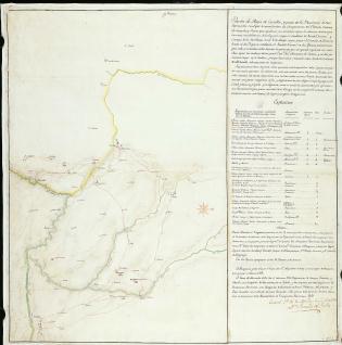 Porción de Mapa de Castilla