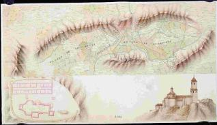 Mapa de los Valles de Valdega y Berrueza
