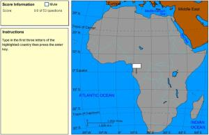 Countries of Africa. Explorer. Sheppard Software
