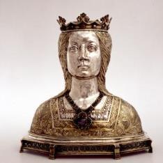 Reñicario de busto femenino