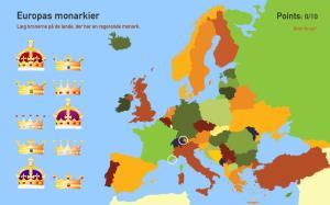 Europas monarkier. Toporopa
