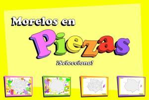 Municipios de Morelos. Puzzle. INEGI de México