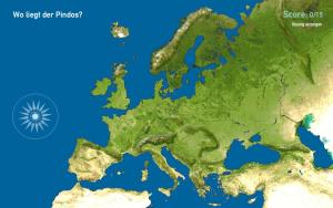 Gebirge in Europa. Toporopa