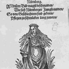 Modas femeninas europeas de los siglos XVI y XVII