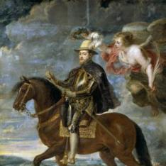 Felipe II a caballo