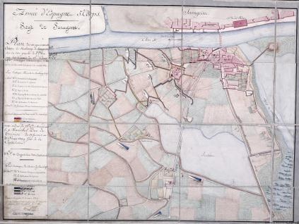 Armeé d'Espagne, 5e. Corps. Siege de Saragosse