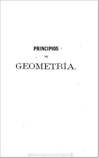 Principios de aritmética y geometría