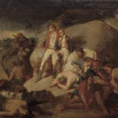 Episodio de la Batalla de Trafalgar (boceto)