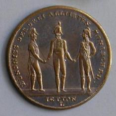 Medalla conmemorativa de la batalla de Hanau