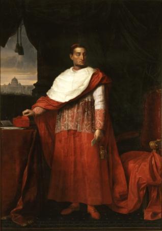 Retrato del cardenal Francisco Javier Gardoqui