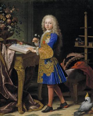 Carlos de Borbón y Farnesio, niño (futuro Carlos III de España)