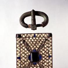 Broche de cinturón visigodo
