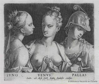 Juno, Venus y Palas