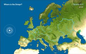Rivers of Europe. Toporopa