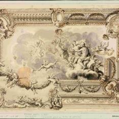 Decoración para un techo de palacio