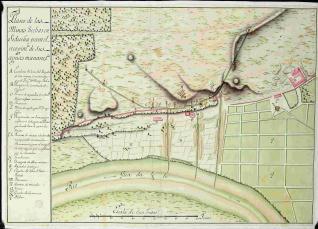 Plano de las minas hechas en Sidueña