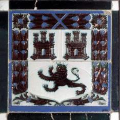 Panel de azulejos