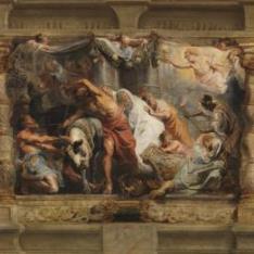Triunfo de la Eucaristía sobre la Idolatría