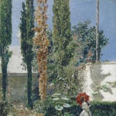 Jardín de la casa de Fortuny