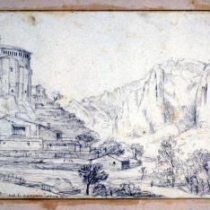 Vista de Murillo de Gallego, Huesca