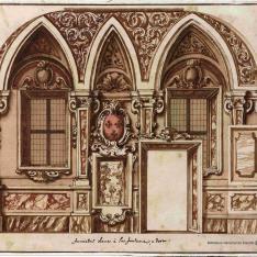 Comedor de un palacio italiano del siglo XVIII