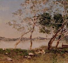 Paisaje con río (Venecia)
