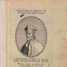 Retrato de San Francisco de Borja