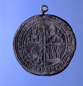 Sello de Juan II, rey de Castilla y de León