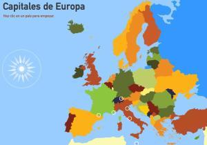 Capitales de Europa. Toporopa