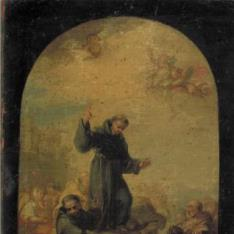 San Antonio de Padua predicando a los peces