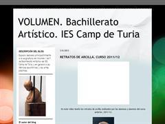 VOLUMEN. BACHILLERATO ARTÍSTICO. IES CAMP DE TURIA