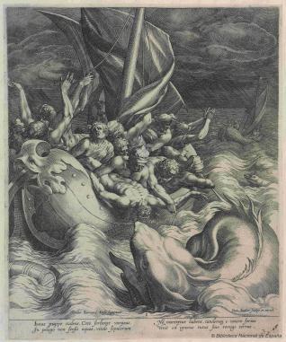 Jonás arrojado a la ballena