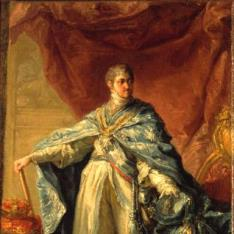 Fernando VII, con el hábito de la órden de Carlos III