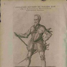 Retrato de Fernando Alvarez de Toledo