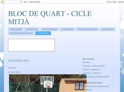 BLOC DE QUART
