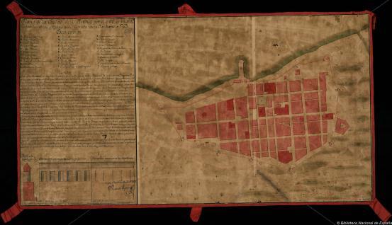 Plano de la Ciudad de Vera Cruz
