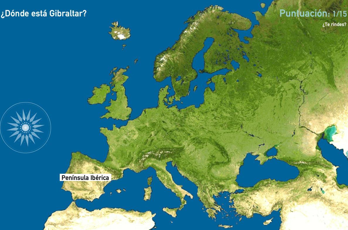 Penínsulas de Europa. Toporopa