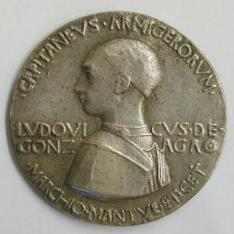 Medalla de Ludovico Gonzaga, II Marqués de Mantua