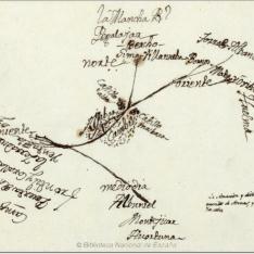 Mapa de Cambil y alrededores