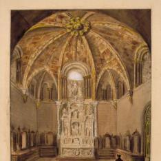 Sacristía de la catedral de Ávila
