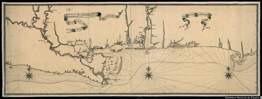 Plano de la Provincia de Luisiana
