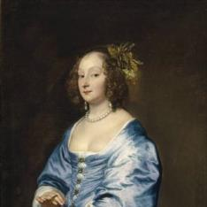 Mary Ruthven, Lady van Dyck