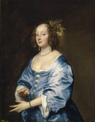 Mary Ruthven, Lady van Dyck