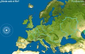 Ríos de Europa. Toporopa