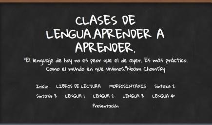 Clases de lengua. Aprender a aprender