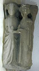 Fragmento de capitel antropomorfo