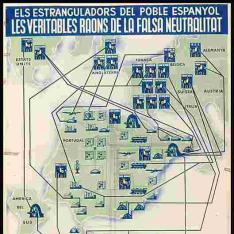 Les variables raons de la falsa neutralitat la constitueixen els interessos internacionas invertits a Espanya