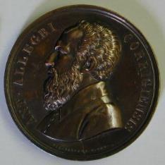 Medalla conmemorativa de Antonio Aleegri, Correggio