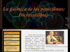 La química de las penicilinas: Dicloxacilina